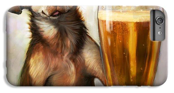 Beer iPhone 6s Plus Case - Pint Sized Hero by Sean ODaniels