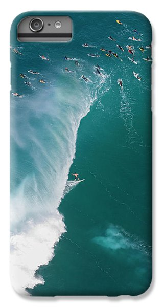 Helicopter iPhone 6s Plus Case - Pipe Tube Overvew by Sean Davey