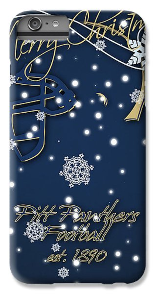 Pitt Panthers Christmas Cards IPhone 6s Plus Case