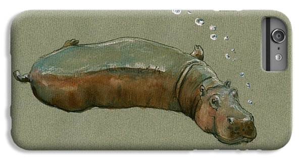 Playing Hippo IPhone 6s Plus Case