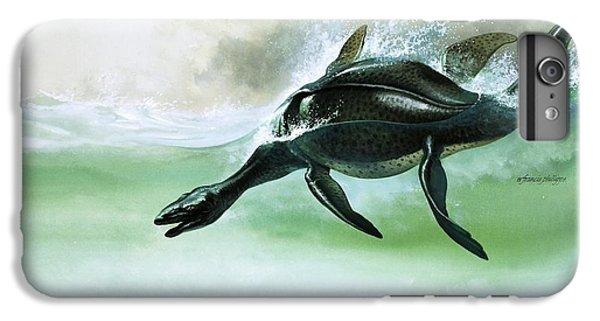Plesiosaurus IPhone 6s Plus Case by William Francis Phillipps