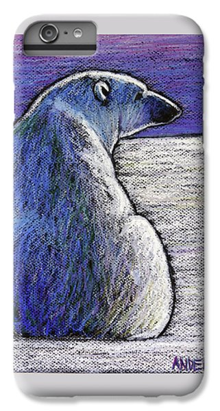 Polar Bear Backside IPhone 6s Plus Case by Ande Hall
