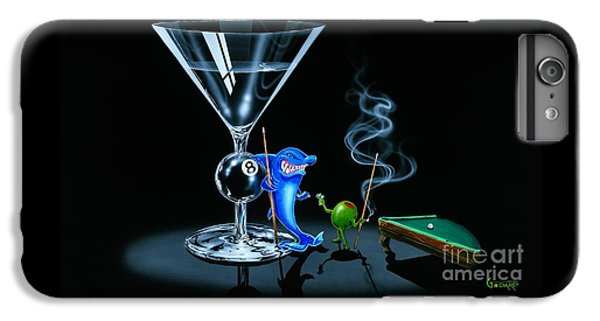 Pool Shark IPhone 6s Plus Case by Michael Godard