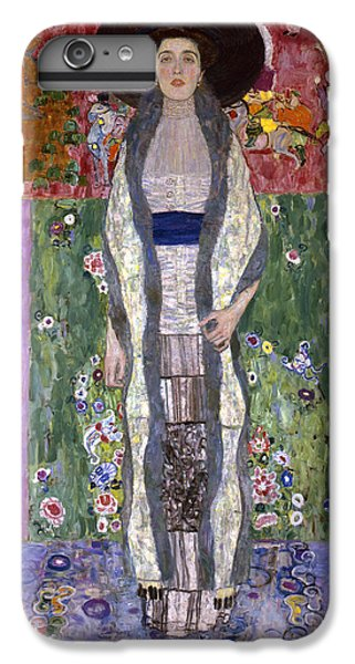 Portrait Of Adele Bloch-bauer II IPhone 6s Plus Case by Gustav Klimt