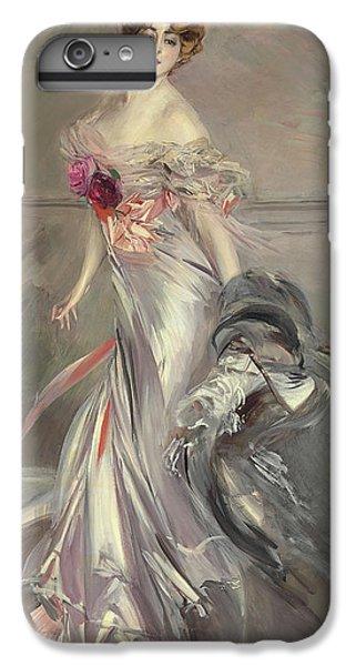 Portrait Of Marthe Regnier IPhone 6s Plus Case by Giovanni Boldini