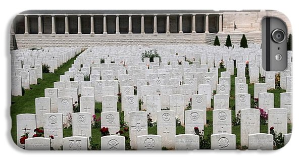 IPhone 6s Plus Case featuring the photograph Pozieres British Cemetery by Travel Pics