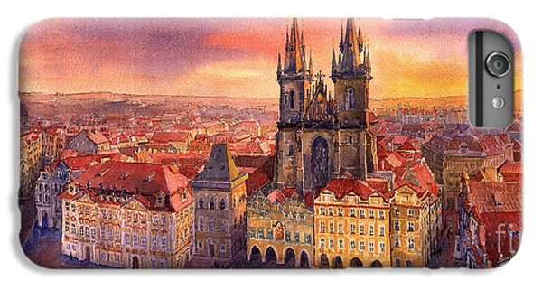 Town iPhone 6s Plus Case - Prague Old Town Square 02 by Yuriy Shevchuk