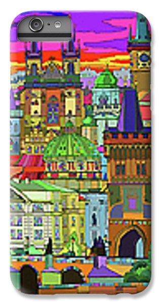 Town iPhone 6s Plus Case - Prague Panorama Old Town by Yuriy Shevchuk