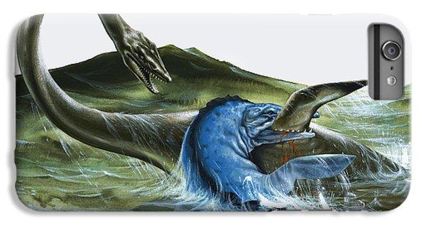 Prehistoric Creatures IPhone 6s Plus Case by David Nockels