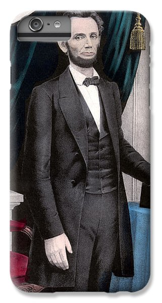 President Abraham Lincoln In Color IPhone 6s Plus Case