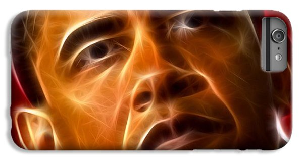 President Barack Obama IPhone 6s Plus Case by Pamela Johnson