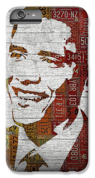 President Barack Obama Portrait United States License Plates IPhone 6s Plus Case
