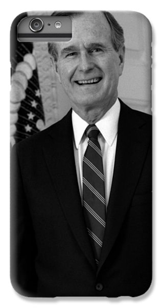 President George Bush Sr IPhone 6s Plus Case by War Is Hell Store