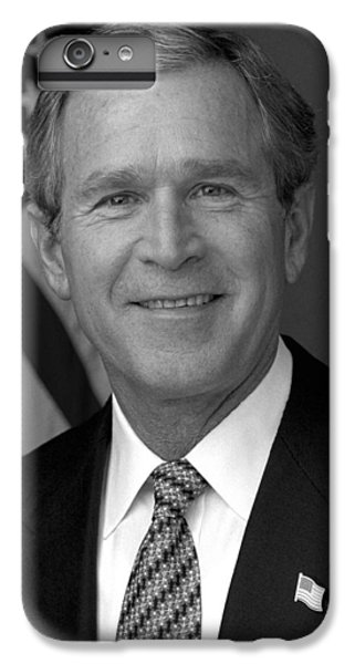 President George W. Bush IPhone 6s Plus Case by War Is Hell Store