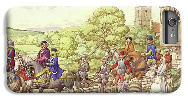 Prince Edward Riding From Ludlow To London IPhone 6s Plus Case by Pat Nicolle