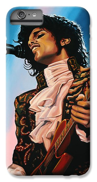 Rhythm And Blues iPhone 6s Plus Case - Prince Painting by Paul Meijering