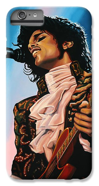Prince Painting IPhone 6s Plus Case by Paul Meijering