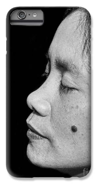 Liz Taylor iPhone 6s Plus Case - Profile Portrait Of A Filipina Beauty With A Mole On Her Cheek II by Jim Fitzpatrick