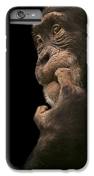 Chimpanzee iPhone 6s Plus Case - Promiscuous Girl by Paul Neville