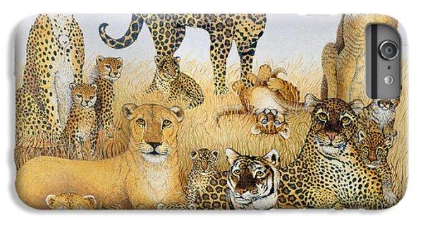 The Big Cats IPhone 6s Plus Case by Pat Scott