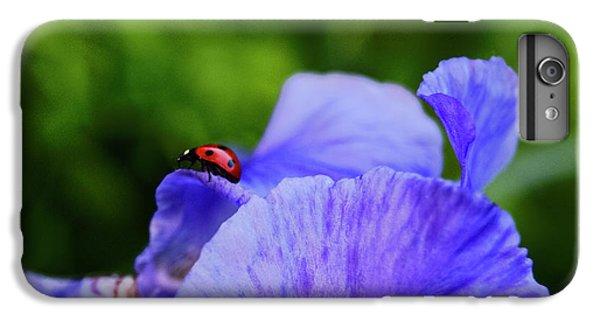 Purple Iris And Ladybug IPhone 6s Plus Case