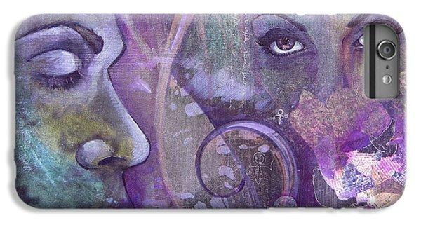 Dove iPhone 6s Plus Case - Purple Rain by Shadia Derbyshire