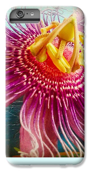 Purple Tropic IPhone 6s Plus Case by Alicia Berent