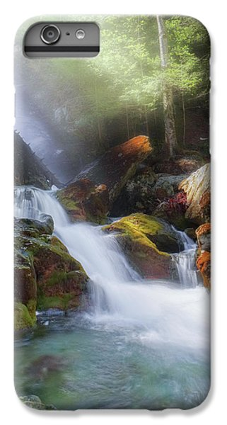 IPhone 6s Plus Case featuring the photograph Race Brook Falls 2017 by Bill Wakeley