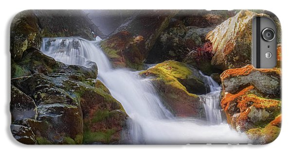 IPhone 6s Plus Case featuring the photograph Race Brook Falls 2017 Square by Bill Wakeley