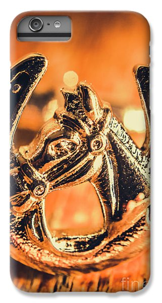 Pendant iPhone 6s Plus Case - Racehorse Luck by Jorgo Photography - Wall Art Gallery