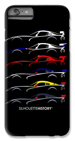 Racing Snake Silhouettehistory IPhone 6s Plus Case by Gabor Vida