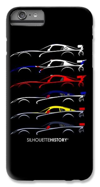Racing Snake Silhouettehistory IPhone 6s Plus Case by Gabor Vida