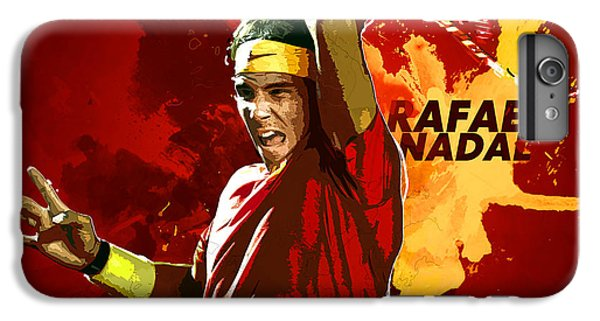 Serena Williams iPhone 6s Plus Case - Rafael Nadal by Semih Yurdabak