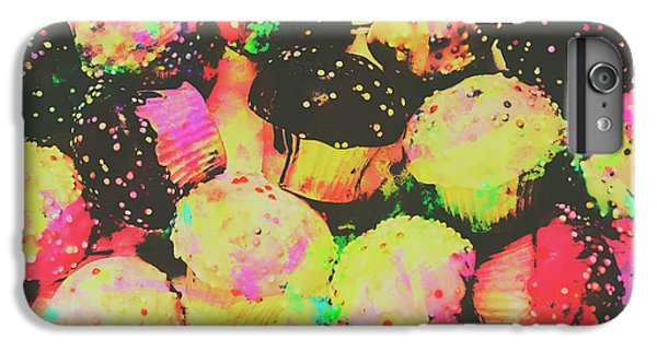 Fairy Cake iPhone 6s Plus Case - Rainbow Color Cupcakes by Jorgo Photography - Wall Art Gallery
