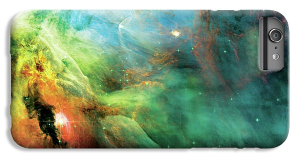 Abstract iPhone 6s Plus Case - Rainbow Orion Nebula by Jennifer Rondinelli Reilly - Fine Art Photography