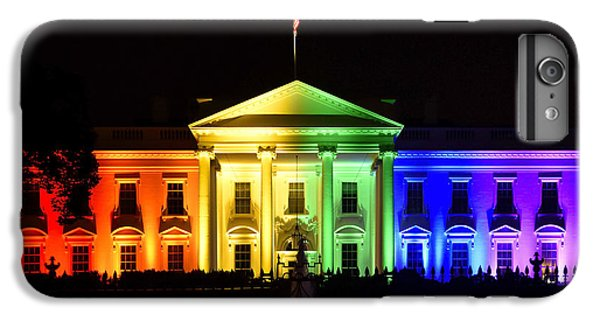 Rainbow White House  - Washington Dc IPhone 6s Plus Case