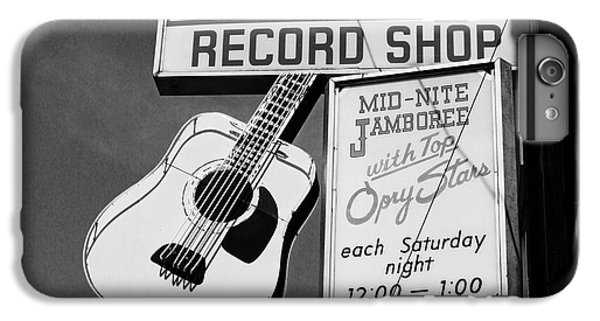 Guitar iPhone 6s Plus Case - Record Shop- By Linda Woods by Linda Woods