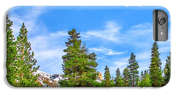 Yosemite National Park iPhone 6s Plus Case - Red Barn On A Hill by Az Jackson