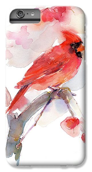 Red Cardinal IPhone 6s Plus Case