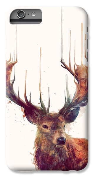 Animals iPhone 6s Plus Case - Red Deer by Amy Hamilton