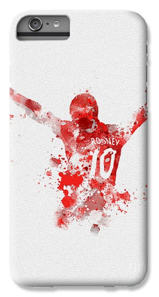 Red Devil Portrait IPhone 6s Plus Case