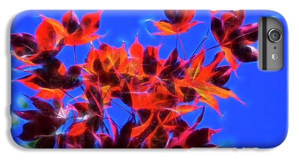 IPhone 6s Plus Case featuring the photograph Red Maple Leaves by Yulia Kazansky