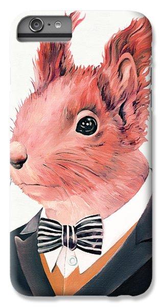Squirrel iPhone 6s Plus Case - Red Squirrel by Animal Crew