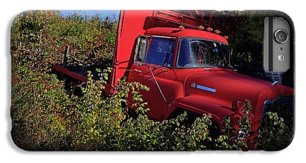 Truck iPhone 6s Plus Case - Red Truck by Jerry LoFaro