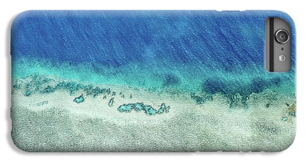 Helicopter iPhone 6s Plus Case - Reef Barrier by Az Jackson