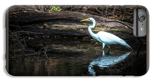 Egret iPhone 6s Plus Case - Reflecting White by Marvin Spates