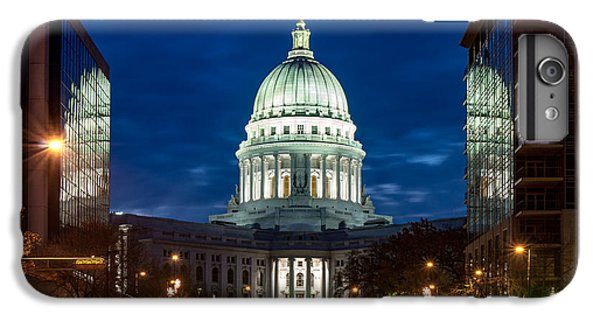 Capitol Building iPhone 6s Plus Case - Reflection Surrounded by Todd Klassy