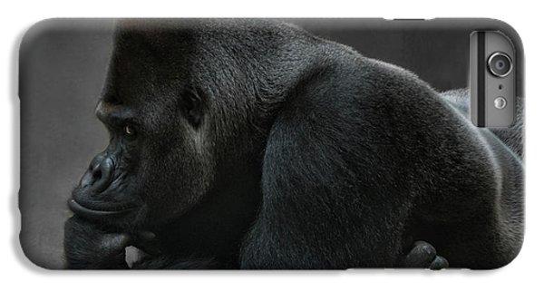 Gorilla iPhone 6s Plus Case - Relaxed Silverback by Joachim G Pinkawa