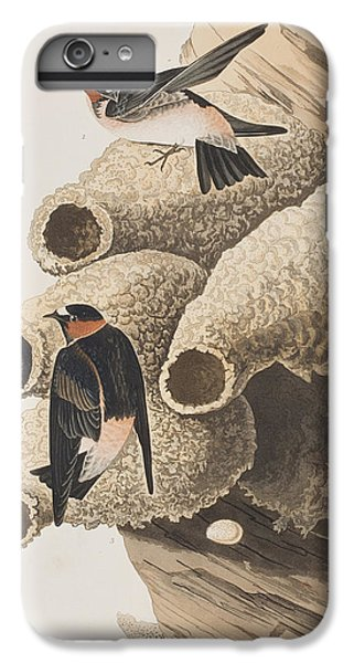 Republican Or Cliff Swallow IPhone 6s Plus Case by John James Audubon