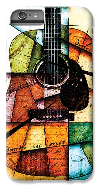 Guitar iPhone 6s Plus Case - Resonancia En Colores by Gary Bodnar